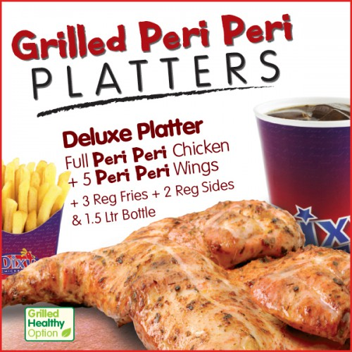 Deluxe Grilled Peri Peri Platter