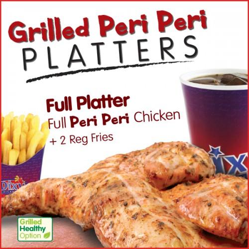 Full Grilled Peri Peri Platter