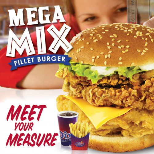 Mega Mix Burger