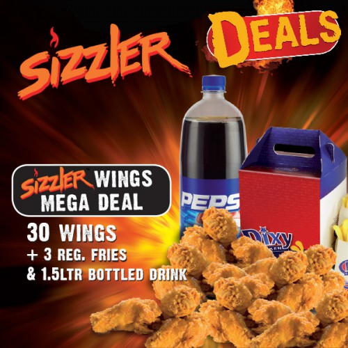 Sizzler Wings Mega Deal